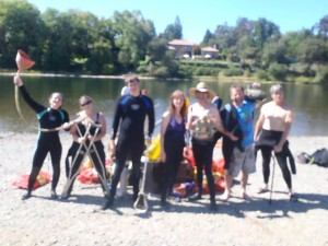 DDS American River Cleanup